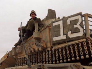 """רב""""ט ג'וש קלמן, לוחם שריון. צילום: דובר צה""""ל"""