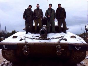 4 לוחמי מרכבה 4 של חטיבה 7