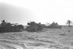 טנקים ישראלים מושמדים