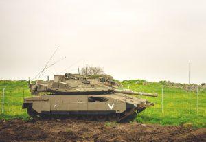 טנק מרכבה 4מ של גדוד 82