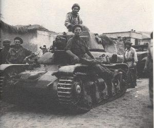 """טנק רנו סורי, שלל בידי צה""""ל במהלך ניסיון לעשות בו שימוש במלחמת העצמאות"""