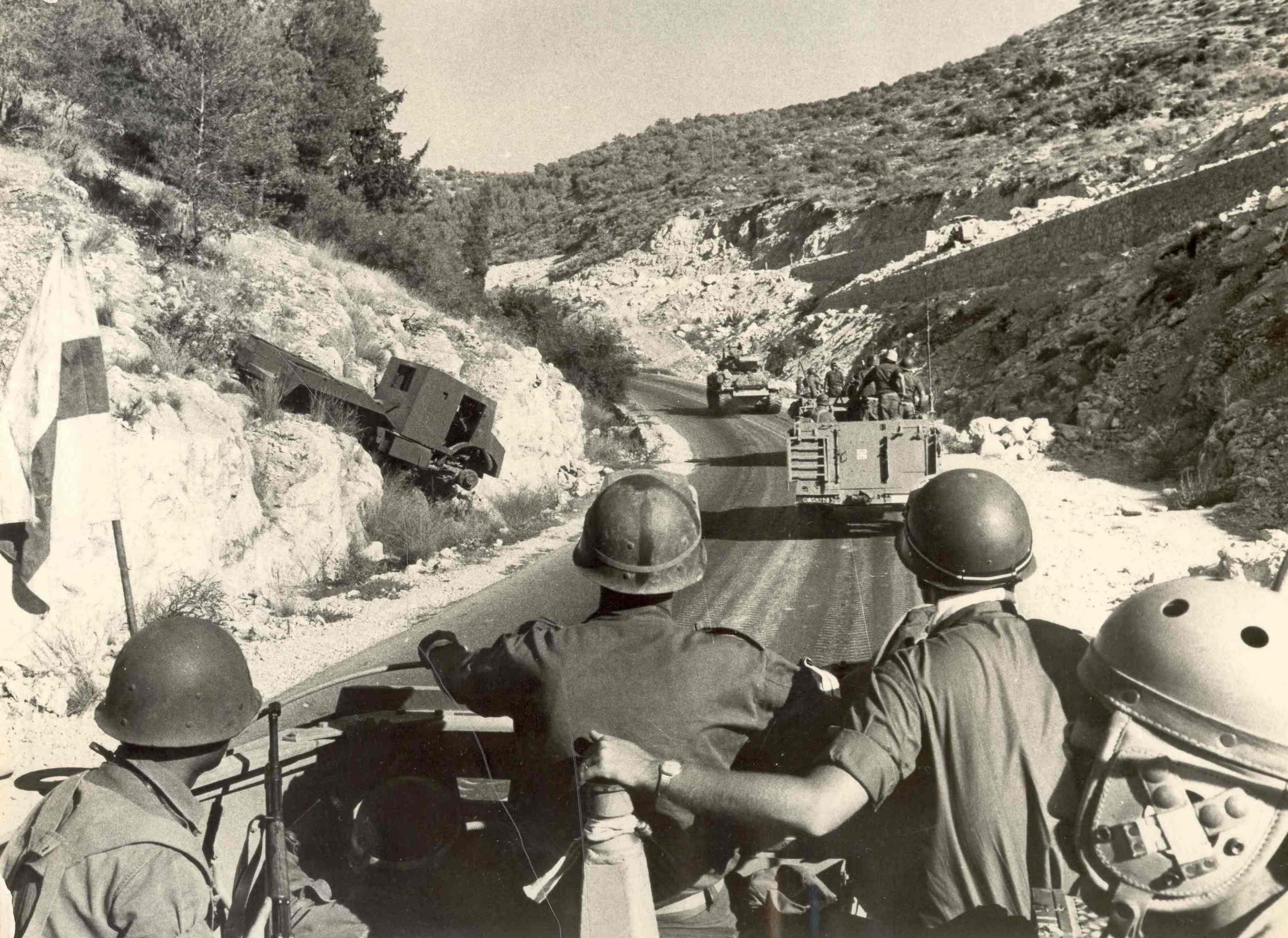 שריון בשער הגיא במלחמת ששת הימים