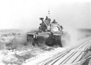 מגח M48A2C בחולות סיני