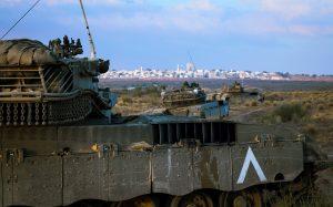 טנקי מרכבה של גדוד 184 בדרך אל היעד