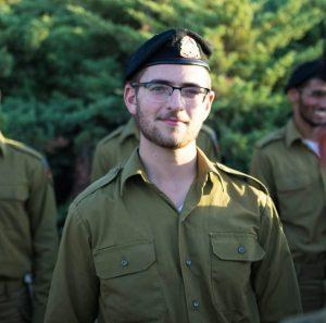 מיכאל לובל במסדר סיום המסלול ביד לשריון בלטרון