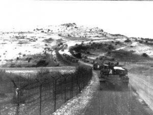 טנק של חטיבה 188 במהלך הפתיחה של המבצע
