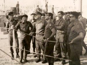 הרמטכל בחניון השריון 1967