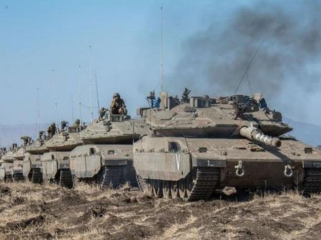 """""""אחד הטנקים הטובים בעולם''. טנק מרכבה סימן 4.צילום: דובר צה""""ל"""