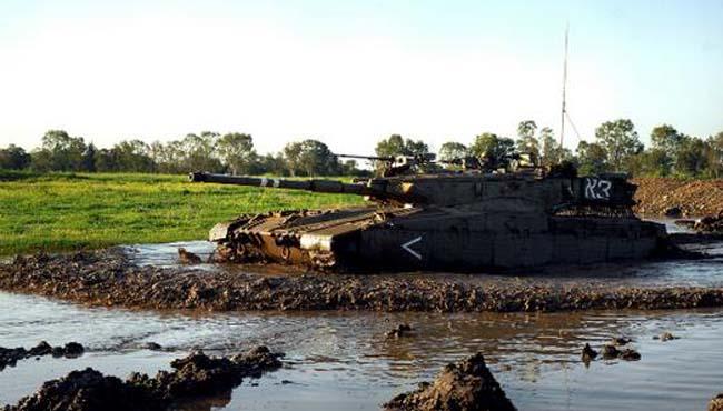 טנק של חטיבה 7