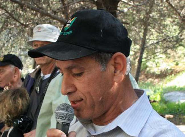"""סא""""ל (במיל') מאיר ראובן, יו""""ר עמותת חטיבה 8 נושא דבריו"""