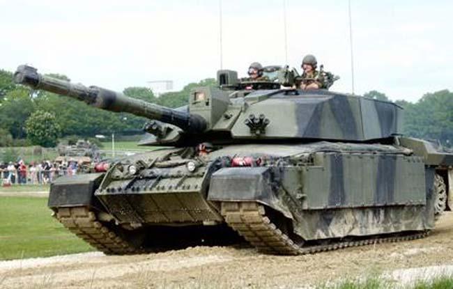 הטנק צ'לנג'ר הבריטי