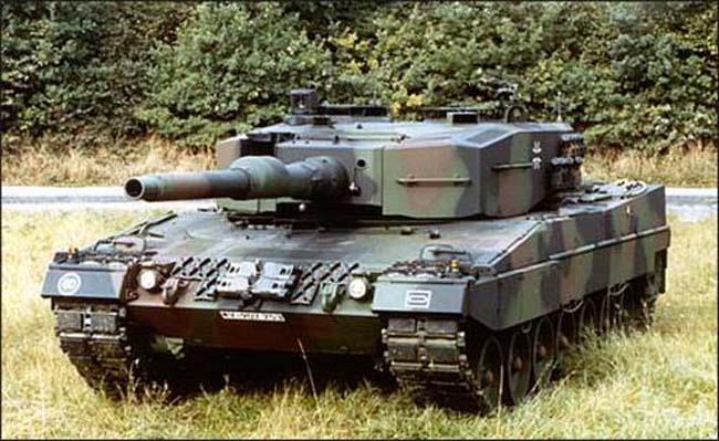 טנק ליאופרד 2 דגםA4