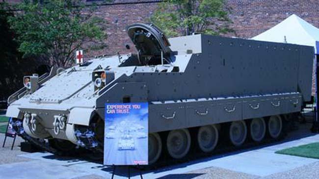 מראה שלAMPV(Armored Multi-Purpose Vehicle)