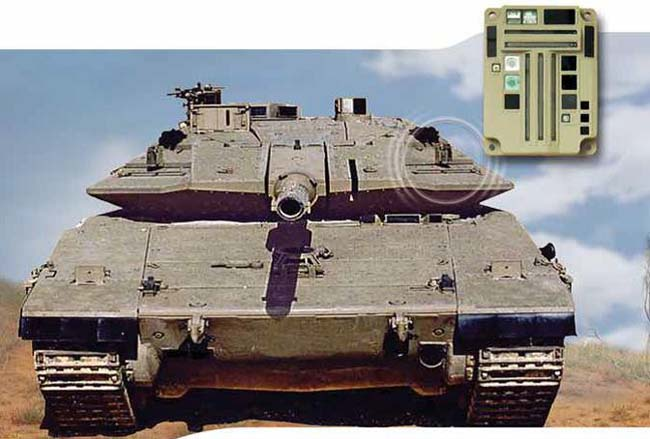מערכת התרעה על בסיס לייזר בטנק מרכבה