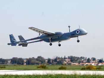 """מל""""ט """"איתן"""" של חיל האוויר. צילום: אוליבייה פיטוסי"""