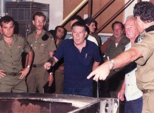 אלוף ישראל טל מבקר בפרוייקט המרכבה