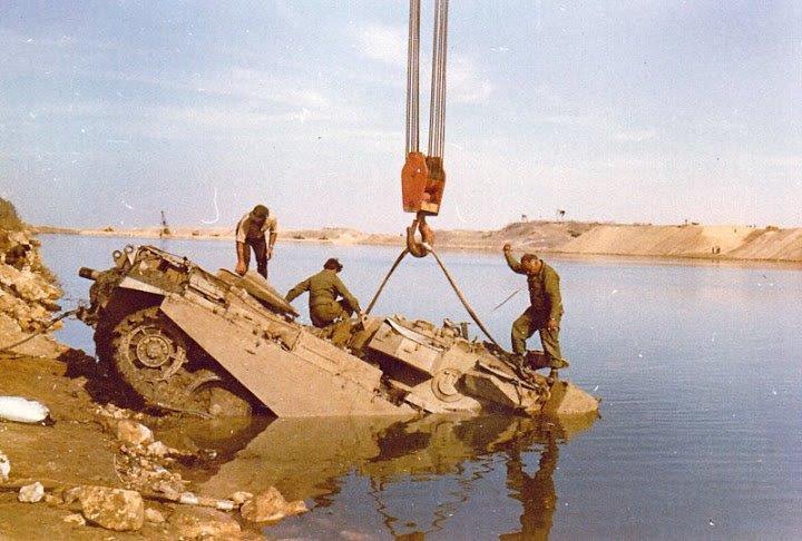 """חילוץ הטנק של סרן שבי זרחיה ז""""ל"""