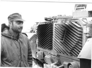"""אל""""ם חיים ארז, מח""""ט 421 במלחמה"""