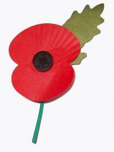 סמל הפרג ביום הזיכרון