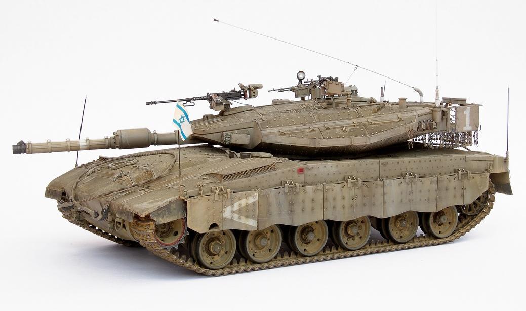 דגם בקנה מידה 1/35 של מרכבה 3ד