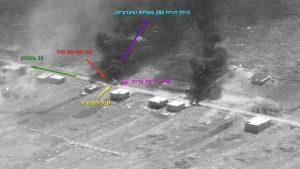 """טנק צ-817688 של המ""""מ ליפשיץ והנעדר התותחן יהודה כ""""ץ בבוקר שלאחר הקרב. עשן יוצא בבירור מרשת ההסוואה שנדלקה בסל הצריח."""