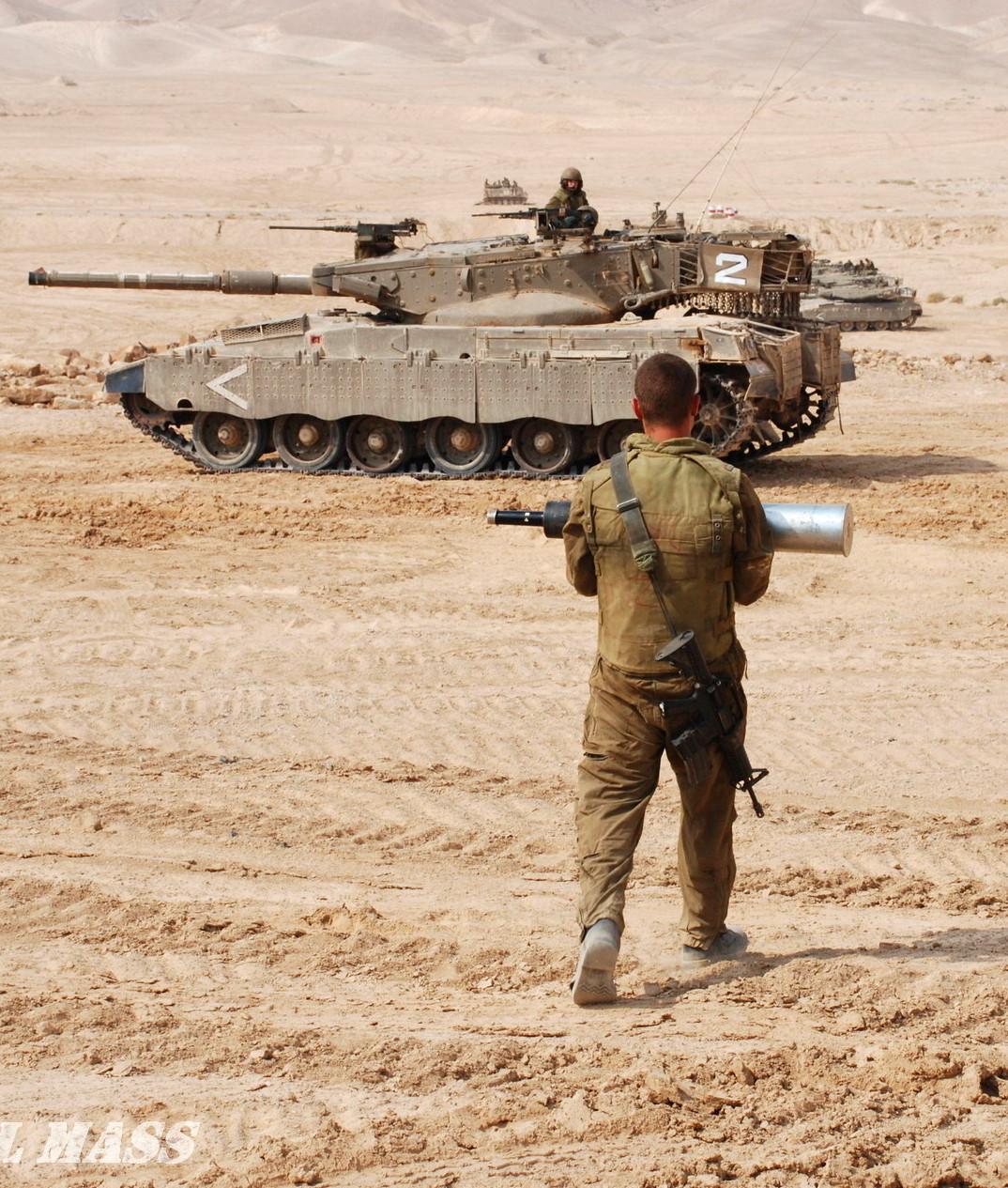 לוחם מחמש טנק מרכבה