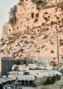 טנק מרכבה סימן 2 בבופור. צילום באדיבות ארז לב רן