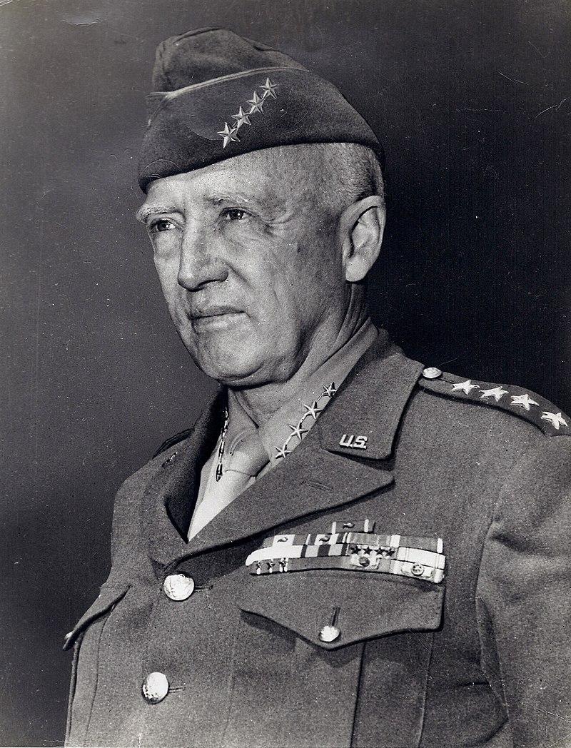 גנרל ג'ורג' פטון הבן, 1885-1945 (צילום - ויקיפדיה)