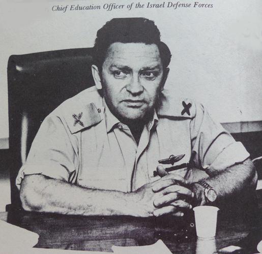 טולקה בתפקיד קצין החינוך הראשי