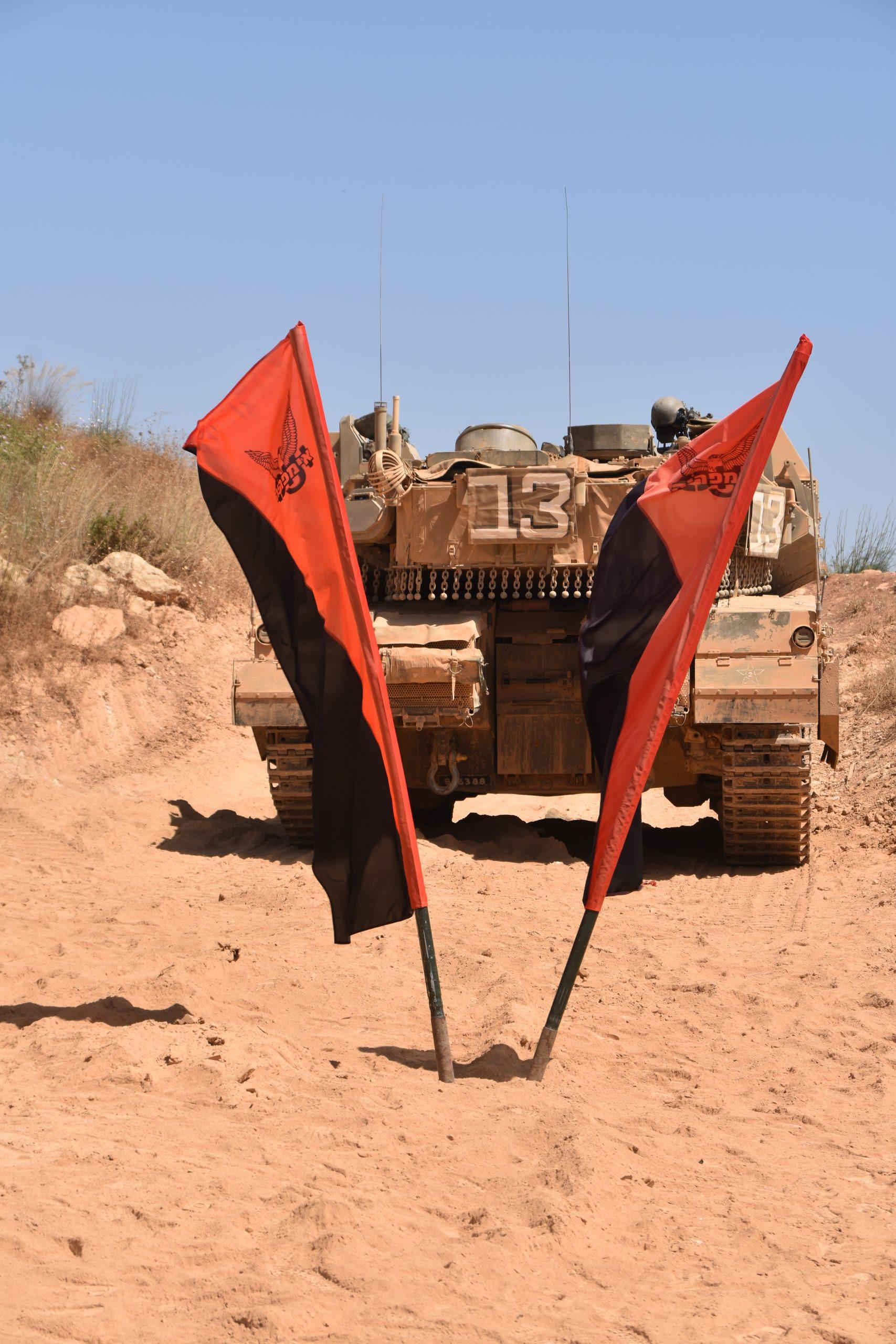 """טנק של 3ב' פלוגת """"ונוס"""""""